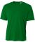 N3142 A4 Adult Cooling Performance Crew KELLY GREEN