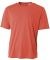N3142 A4 Adult Cooling Performance Crew CORAL