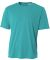 N3142 A4 Adult Cooling Performance Crew TEAL