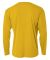 N3165 A4 Adult Cooling Performance Long Sleeve Cre GOLD