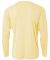 N3165 A4 Adult Cooling Performance Long Sleeve Cre LIGHT YELLOW