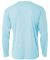 N3165 A4 Adult Cooling Performance Long Sleeve Cre PASTEL BLUE