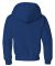 996Y JERZEES® NuBlend™ Youth Hooded Pullover Sw Royal
