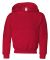 996Y JERZEES® NuBlend™ Youth Hooded Pullover Sw True Red