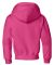 996Y JERZEES® NuBlend™ Youth Hooded Pullover Sw Cyber Pink