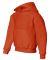 996Y JERZEES® NuBlend™ Youth Hooded Pullover Sw Burnt Orange