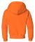 996Y JERZEES® NuBlend™ Youth Hooded Pullover Sw Safety Orange