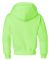 996Y JERZEES® NuBlend™ Youth Hooded Pullover Sw Neon Green