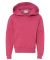 996Y JERZEES® NuBlend™ Youth Hooded Pullover Sw Vintage Heather Red