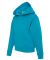996Y JERZEES® NuBlend™ Youth Hooded Pullover Sw California Blue