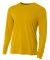 NB3165 A4 Youth Cooling Performance Long Sleeve Cr GOLD