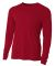 NB3165 A4 Youth Cooling Performance Long Sleeve Cr CARDINAL