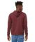 BELLA+CANVAS 3719 Unisex Cotton/Polyester Pullover HEATHER MAROON