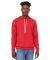 BELLA+CANVAS 3719 Unisex Cotton/Polyester Pullover HEATHER RED