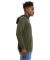 BELLA+CANVAS 3719 Unisex Cotton/Polyester Pullover MILITARY GREEN