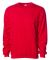 SS3000 - Independent Trading Co. - Crewneck Sweats Red