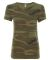 Alternative Apparel 01940E1 Ladies Ideal Vintage T CAMO