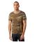 Alternative Apparel 12150 Eco Vintage Football T-S CAMO/ ECO GREY