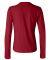 BELLA 6500 Womens Long Sleeve T-shirt RED