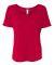 BELLA 8816 Womens Loose T-Shirt RED