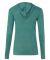 Alternative Apparel 01928E1 Ladies Hooded T-shirt ECO TR VIRIDIAN
