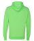 8620 J. America - Cloud Fleece Hooded Pullover Swe Neon Green
