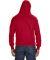 8620 J. America - Cloud Fleece Hooded Pullover Swe Red