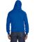 8620 J. America - Cloud Fleece Hooded Pullover Swe Royal
