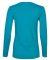 884L Anvil Missy Fit Ringspun Long Sleeve T-Shirt Caribbean Blue