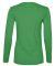 884L Anvil Missy Fit Ringspun Long Sleeve T-Shirt Green Apple
