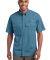 EB608 Eddie Bauer® - Short Sleeve Fishing Shirt Blue Gill