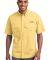 EB608 Eddie Bauer® - Short Sleeve Fishing Shirt Goldenrod Yllw