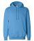 1254 Badger - Hooded Sweatshirt Columbia Blue