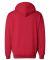 1254 Badger - Hooded Sweatshirt Red