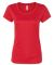 W1009 All Sport Ladies' Performance Short-Sleeve T SPORT SCRLET RED