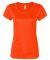 W1009 All Sport Ladies' Performance Short-Sleeve T SPRT SAFTY ORANG