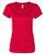 W1009 All Sport Ladies' Performance Short-Sleeve T Sport Red