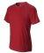 M1021 All Sport Men's Short-Sleeve Interlock Piece Sport Scarlet Red/ Slate