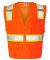 1163-1164 ML Kishigo - Solid Front Vest with Mesh  Orange