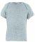 Rabbit Skins 3400 Baby T-shirt w/ Lap Shoulder HEATHER