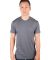 MC134 Dark Grey Modal Cotton T-Shirt Front View