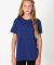 American Apparel TR201W Youth Triblend Short-Sleeve T-Shirt Tri Indigo