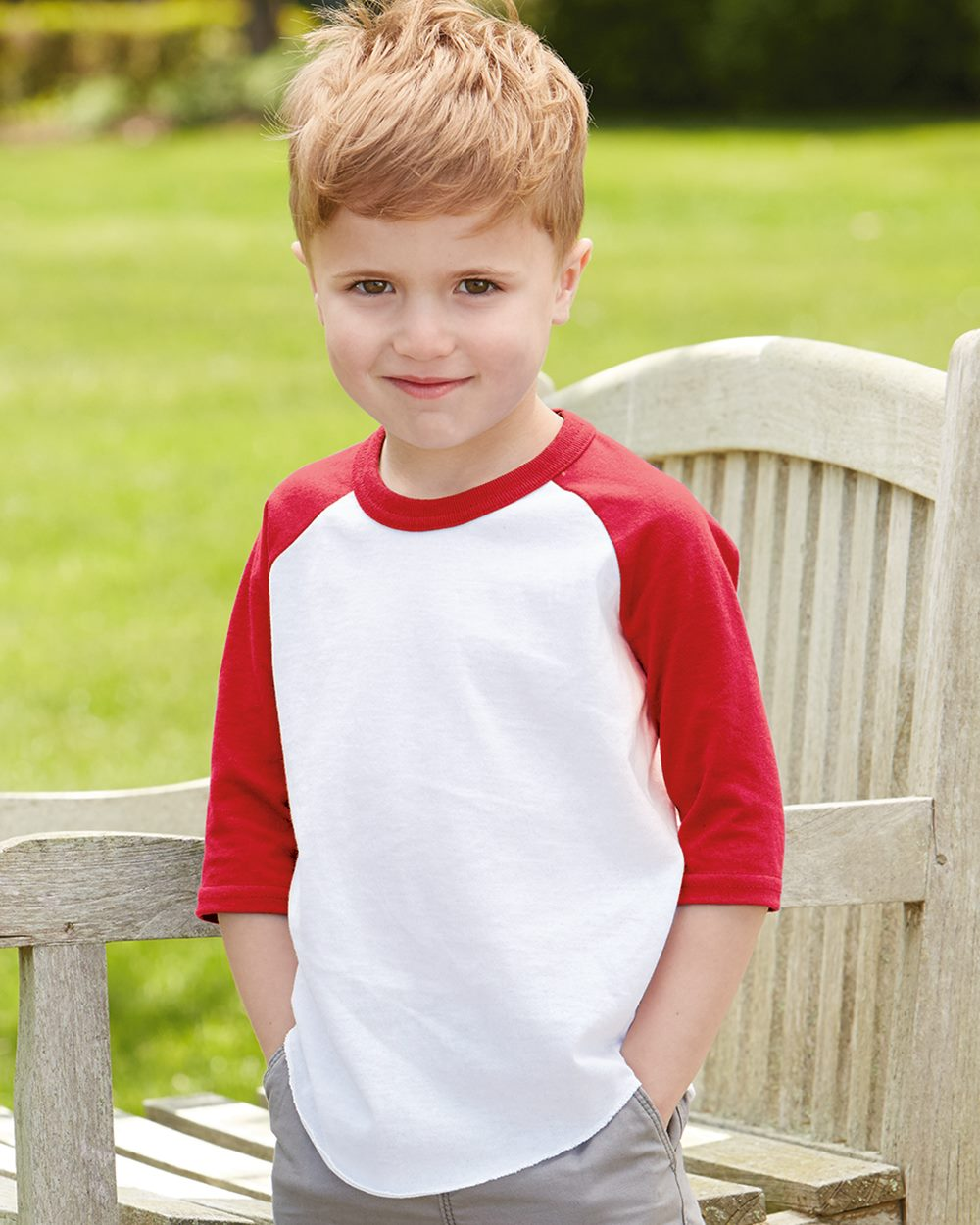 Share The Love Unisex Toddler Baseball Jersey Contrast 3//4 Sleeves Tee