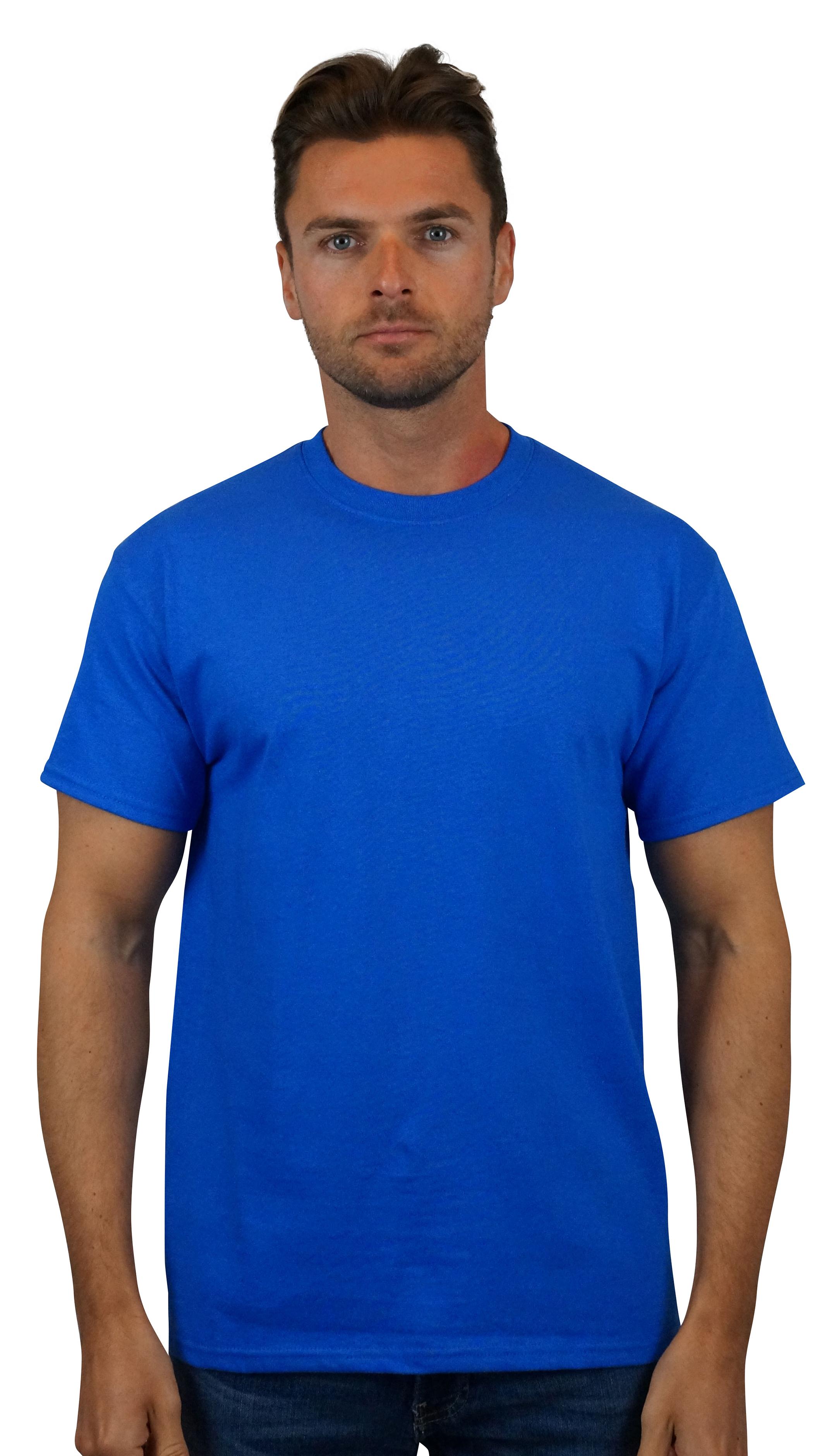 2000 Indigo Blue Gildan Ultra Cotton 100/% Cotton T-Shirt