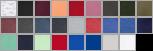 290 swatch palette