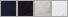 C204 swatch palette