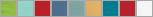 W1218 swatch palette