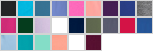 D730DL swatch palette