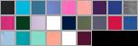 P130DL swatch palette